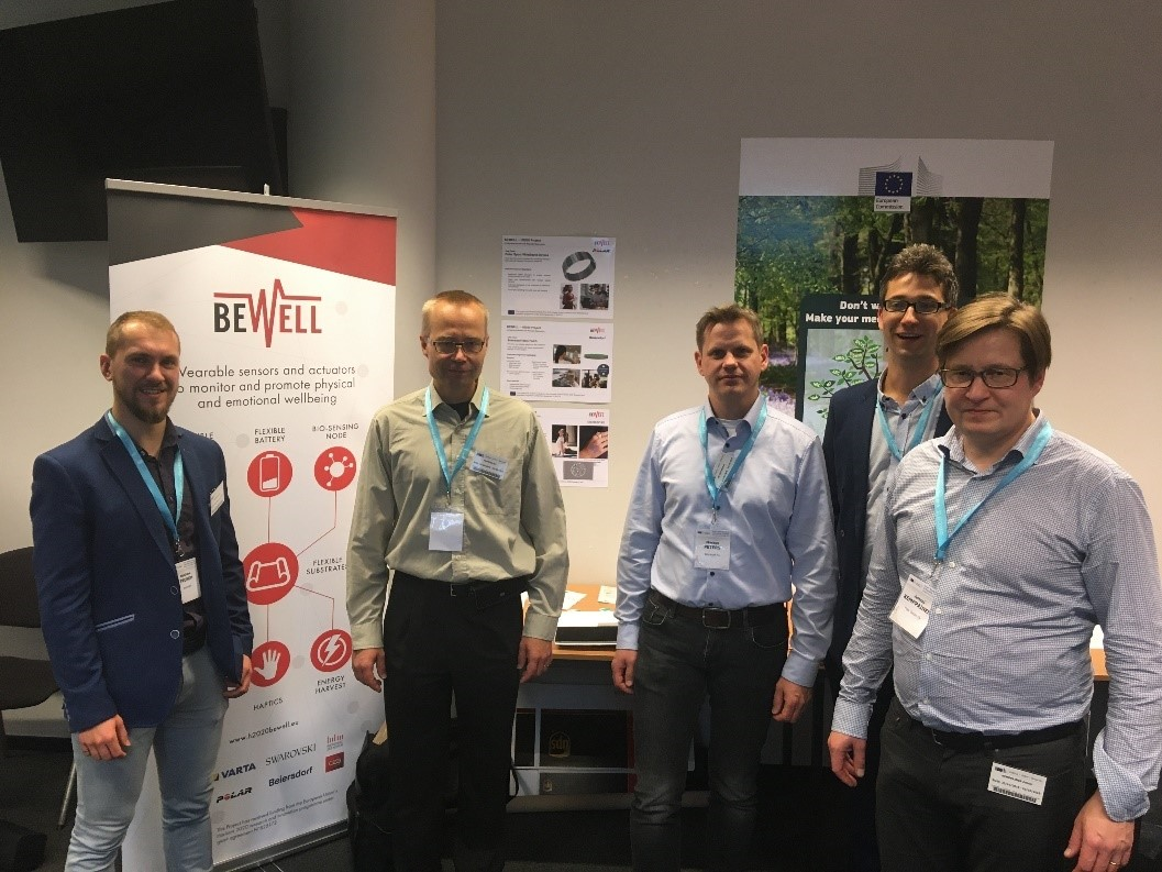 BEWELL project booth